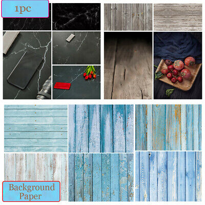 Double-sided Wood Grain Background Photo Props  Photography Backdrop Paper