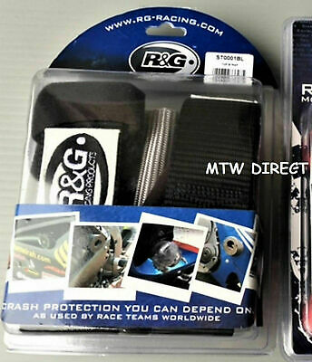 R&G Motorcycle Motorbike Handlebar Bar Tie Down Top Strap TRANSPORT TRAILER