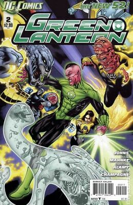 Green Lantern (4th Series) #2A 2011 Mahnke Variant NM Stock Image