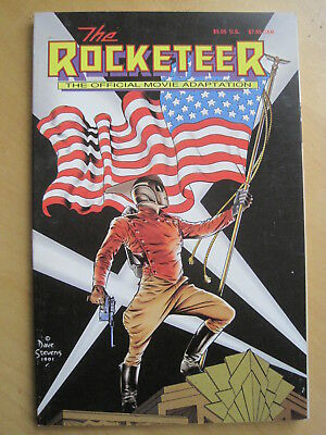 The ROCKETEER : SQ BND MOVIE ADAPTATION GRAPHIC NOVEL by PETER DAVID, RUSS HEATH