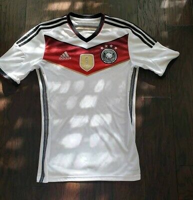 4d4141fd2 Soccer-National Teams NEUER GERMANY GOALKEEPER 4 STAR JERSEY FIFA WORLD CUP  2014 CHAMPIONS. ADIDAS M