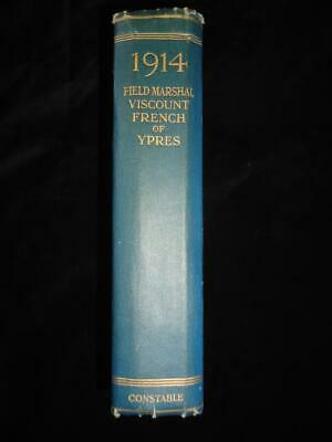 1914 by Field-Marshal Viscount French of Ypres WWI ex-libris Sir E A H Alderson