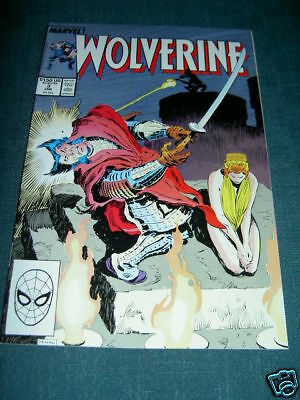 WOLVERINE 3. By CHRIS CLAREMONT & JOHN BUSCEMA.  MARVEL. 1989