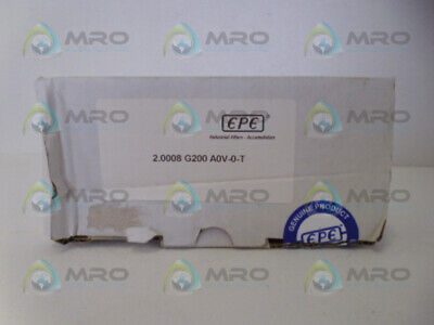 Epe 2.0008G200A0V-0-T Hydraulic Filter * New In Box *