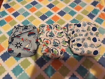 Unbranded Charcoal Bamboo Cloth Diapers