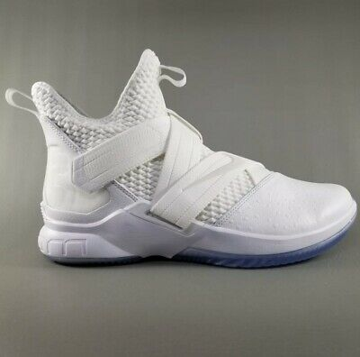 3f3d2ffc447 Nike Lebron Soldier XII 12 SFG Basketball Shoes Size 10.5 Mens White
