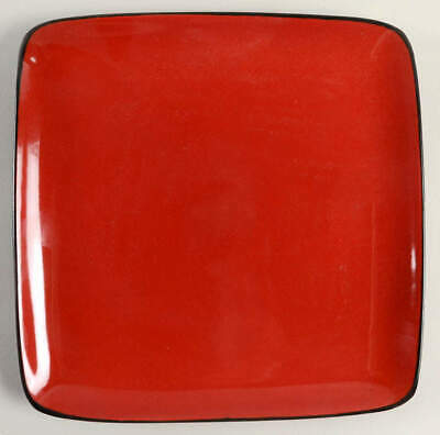 Home Trends RAVE RED SQUARE Dinner Plate 7333027