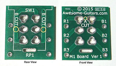True Bypass for older pedals & projects, Simple Jimmy Page Upgrades Get This PCB