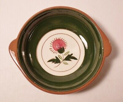 "Stangl THISTLE 6-1/8"" Lugged Soup Bowl"