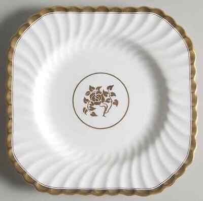 Minton GOLD ROSE Square Luncheon Plate 331007