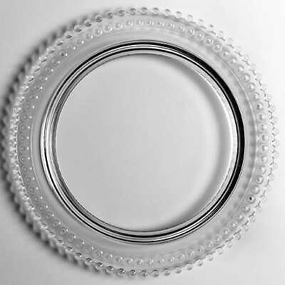 Imperial Glass Ohio CANDLEWICK CLEAR (STEM #3400) Birthday Cake Plate 236970