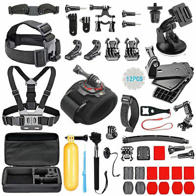 51 In 1 GoPro Accessories Kit Hero 5 4 3 2 1 Bundle Camera Outdoor Sports Set