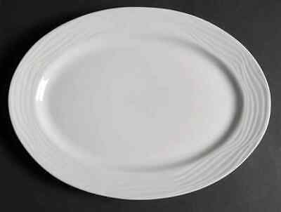 "Gibson Designs EVENTIDE 14 1/4"" Oval Serving Platter 7001242"