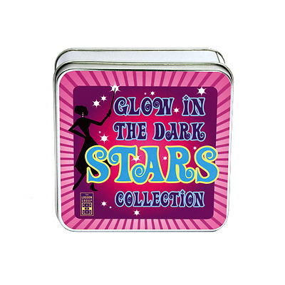 GLOW in the DARK STARS Collection-PLASTIC Stars (NEW) baby toys science / nature