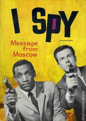 I Spy Message from Moscow HC (Whitman) #1-1ST 1966 VG Stock Image