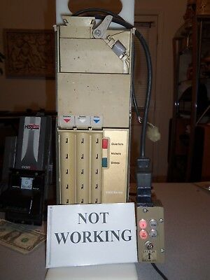 PARTS NOT WORKING COINCO 9370-S Coin Acceptor 117v Soda/Snack Vending  Machine