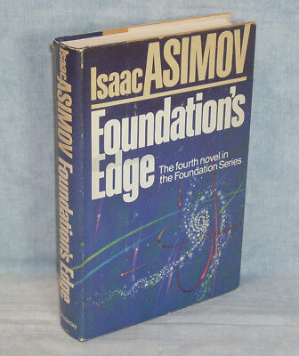 ISAAC ASIMOV - Foundation's Edge, 1982 HC/DJ early printing, Foundation #4