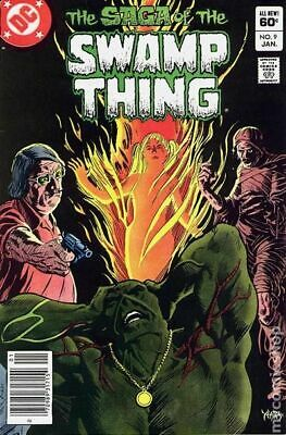 Swamp Thing (2nd Series) #9 1983 VF Stock Image
