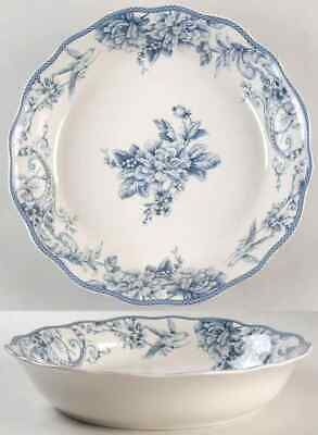 222 Fifth ADELAIDE-BLUE & WHITE Pasta Serving Bowl 8995397