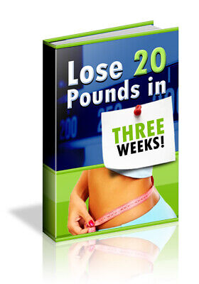 Lose 20 Pounds In 3 Weeks eBook PDF with Full Master Resell Rights