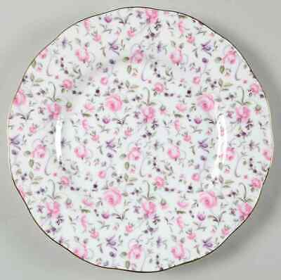 Royal Albert ROSE CONFETTI Vintage Formal Salad Plate 9359764