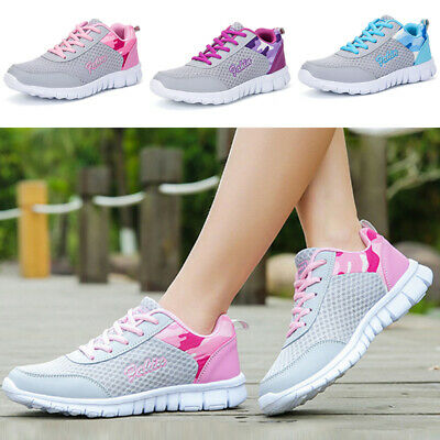 Women Shoes Athletic Walking Outdoors Hiking Trainers Tennis Lightweight Ladies