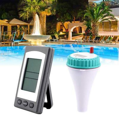 Wireless Remote Floating Thermometer Swimming Pool Waterproof Solar Temperature