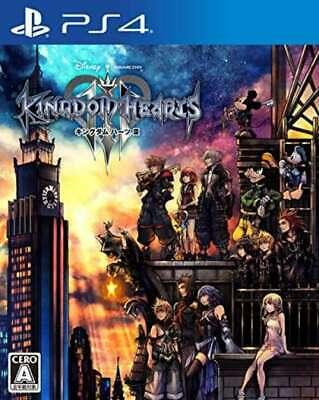 NEW Play station4 Kingdom Hearts III PS4 VideoGame Soft from Japan free shipping