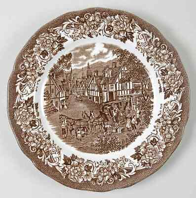 J & G Meakin STRATFORD STAGE BROWN Bread & Butter Plate 351600