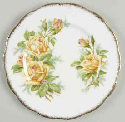 Royal Albert TEA ROSE YELLOW Bread & Butter Plate 620005