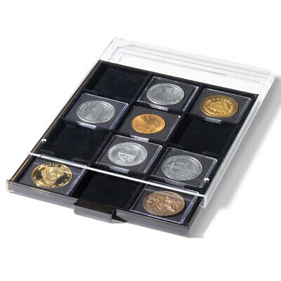 Lighthouse Coin Drawer for Quadrum XL Holders - Black