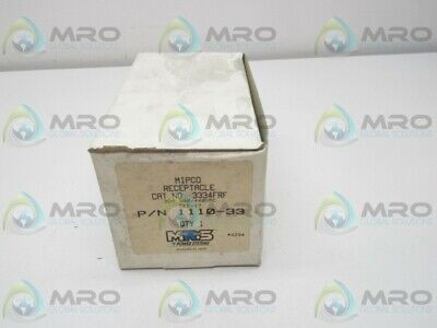 Mipco 3334Frf Receptacle * New In Box *