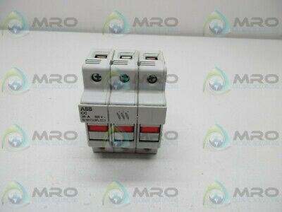 Abb Cc 30A 600V Fuse Holder * Used *
