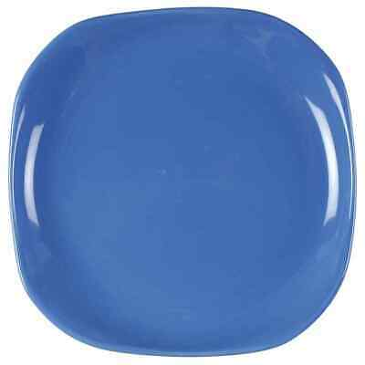 Gibson Designs CONWAY BLUE Square Salad Dessert Plate 7006250