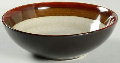 Gibson Designs COUTURE BANDS RED Soup Cereal Bowl 10003082