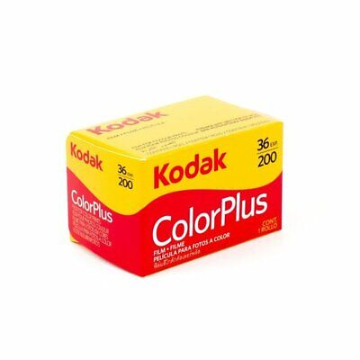 New Boxed Kodak Colorplus 200 35mm 36exp Film 1Rolls  / Date 2021/12  Ready Ship