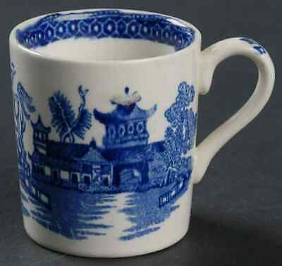 Burgess & Leigh WILLOW-BLUE Demitasse Cup 3792263