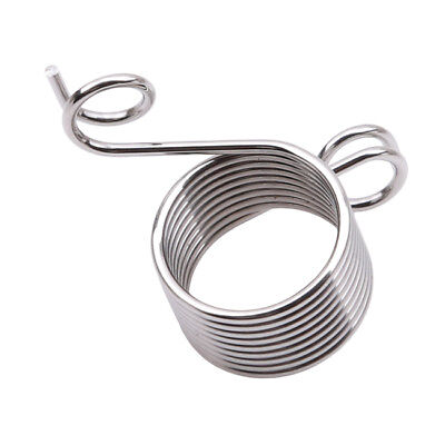 Ring Knitting Sewing Tool Finger Wear Thimble Yarn Spring Guides Needle LD