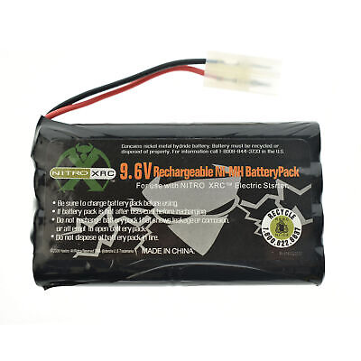 2x Ni-cd 9.6v 2400mAh Rechargeable Battery Pack Tamiya Connector