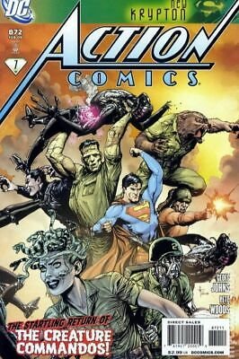 Action Comics (DC) #872A 2009 FN Stock Image
