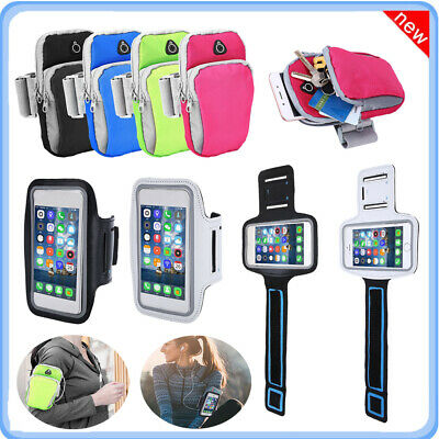 Sports Gym Arm Bag Adjustable Armband Storage Pouch Holder Case For Cell Phone