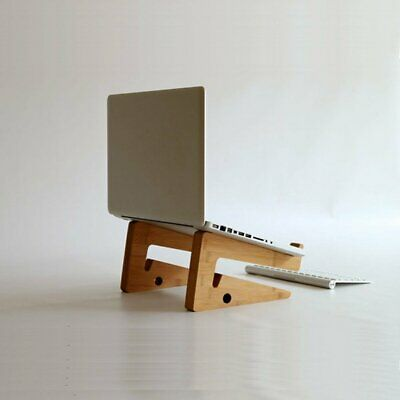 Folding Bamboo Desk Lazy Bed Table Mount Stand Holder For PC Laptop Notebook