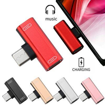 USB Type C To 3.5mm Aux Jack Audio Adapter Headphone For Huawei Xiaomi Samsung