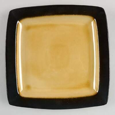 Gibson Designs OCEAN PARADISE AMBER Square Dinner Plate 10346757