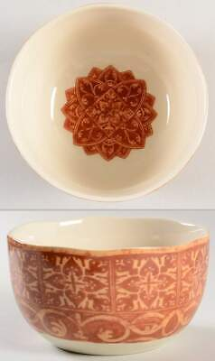 222 Fifth MARRAKESH TERRACOTTA Soup Cereal Bowl 10896550