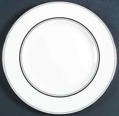 Lenox LIBRARY LANE PLATINUM Imperfect Dinner Plate 7406490