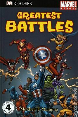 Marvel Heroes Greatest Battles HC (DK Readers) #1-1ST 2008 NM Stock Image