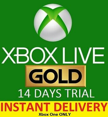 Xbox Live Gold 14 Day Instant Delivery Trial Code D Membership 14 Days 2 weeks