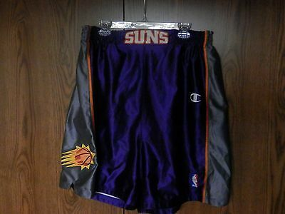 ef8d167a7624 Vintage Phoenix Suns Authentic Champion NBA Basketball Shorts Rare Purple  Sz 46