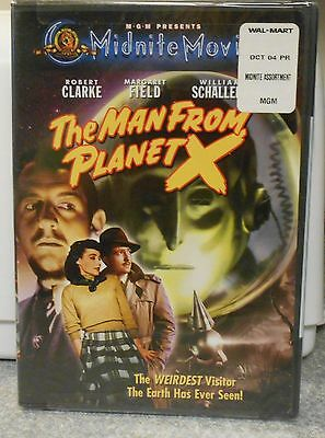 The Man From Planet X (DVD 2001 Midnite Movies) RARE 1951 SCI FI THRILLER NEW